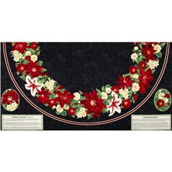 Holiday Treasures Tree Skirt Panel Multi