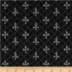 From Paris with Love Fleur De Lis Black