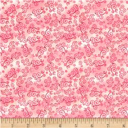Royal Princess Star & Scroll Pink