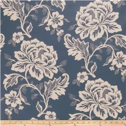 Fabricut Gabrielle Wallpaper Indigo (Double Roll)