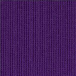 Cotton Blend Thermal Knit Passion Purple