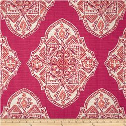 Lacefield Malta Medallion Texture Mulberry