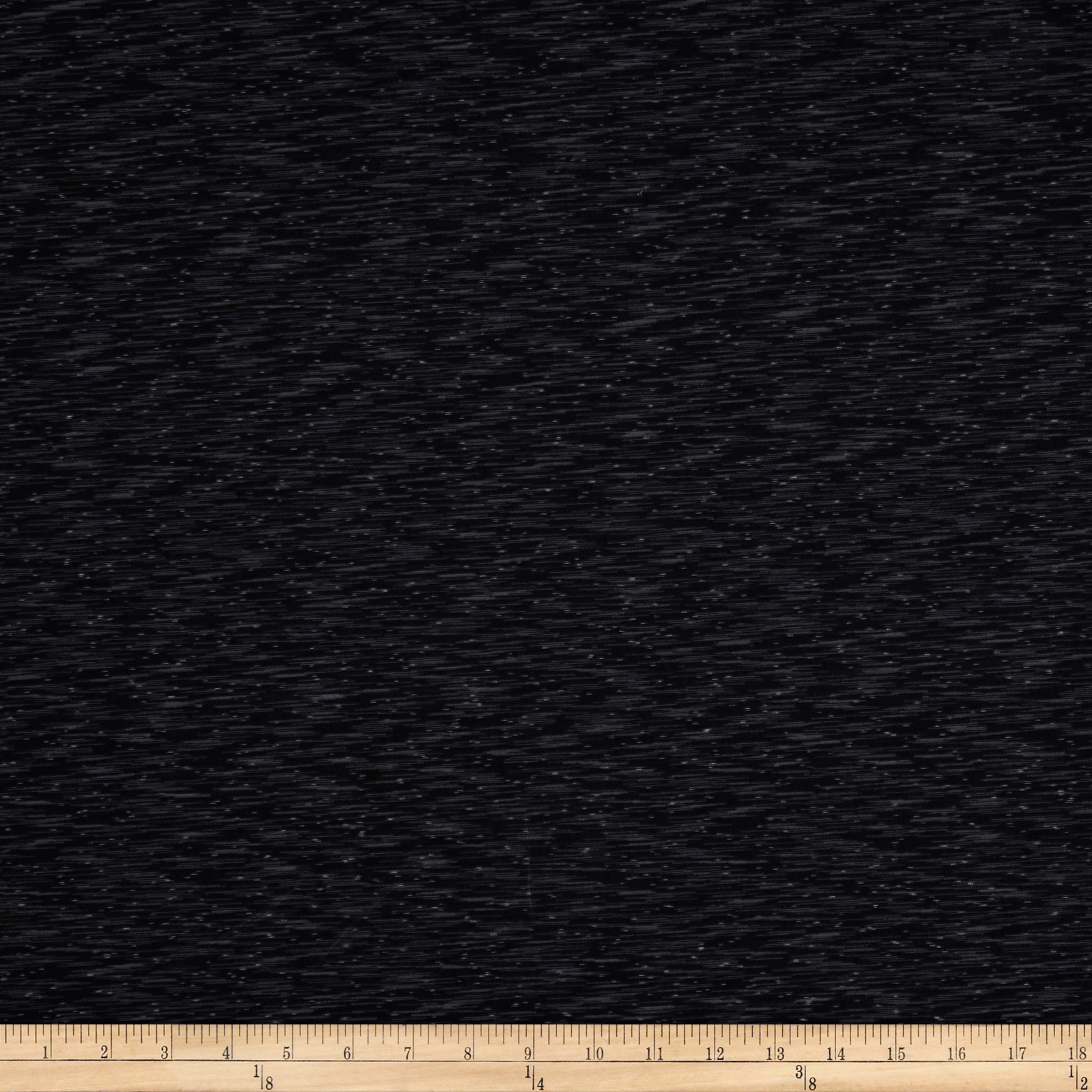 Pine Crest Fabrics Strata Athletic Knit Black/Gray/White 0539029