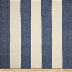 Covington Riley Stripe Yarn Dyed Dark Denim Blue