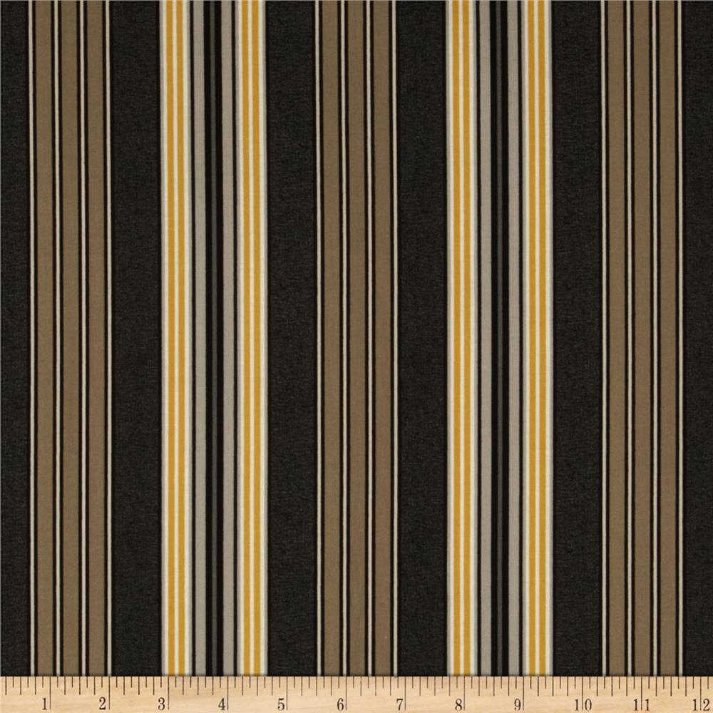French Press Stripes Charcoal
