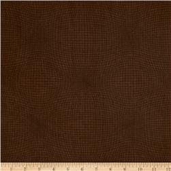 Measure Wavy Grid Brown