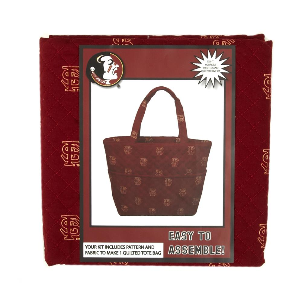 Collegiate Quilted Tote Florida State University