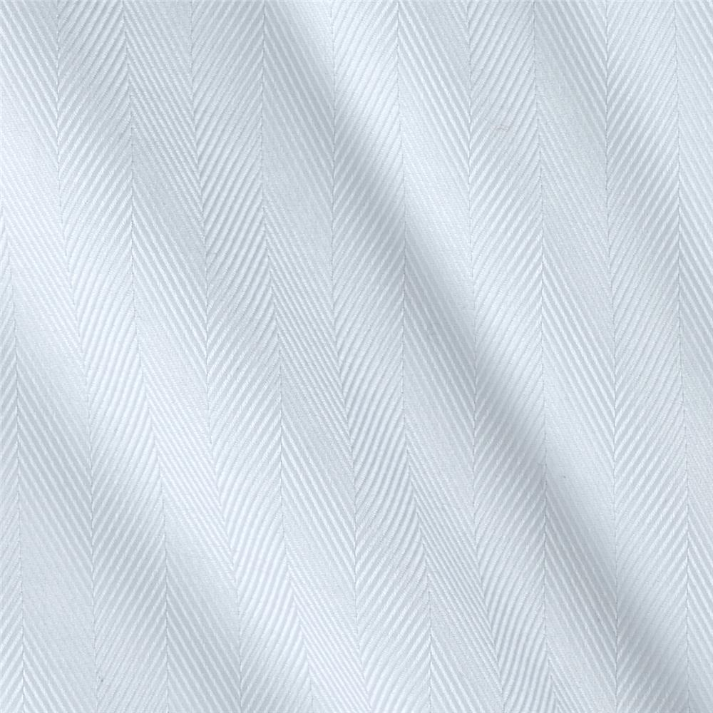 Kaufman White Shirt Dobby Herringbone Stripe