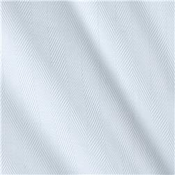 Robert Kaufman White Shirt Dobby Herringbone Stripe