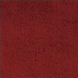 Harper Home Cotton Velvet Burgundy