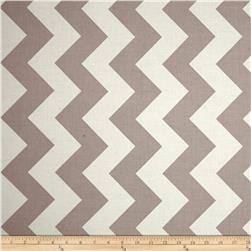 Riley Blake Chevron Large Grey Fabric