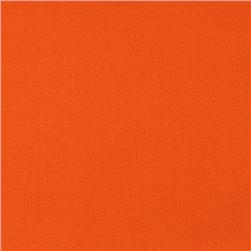 Diversitex Polyester/Cotton Twill Orange Fabric