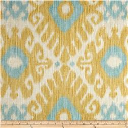 Jaclyn Smith Ikara Blend Lemon Zest Fabric