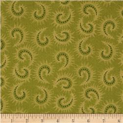 Heritage Hollow Star Paisley Green