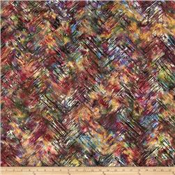 Bali Batiks Handpaints Chevron Brush Riviera