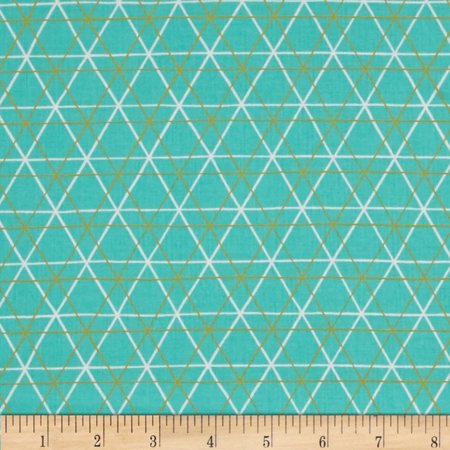 Erin McMorris Highline A-Line Turquoise