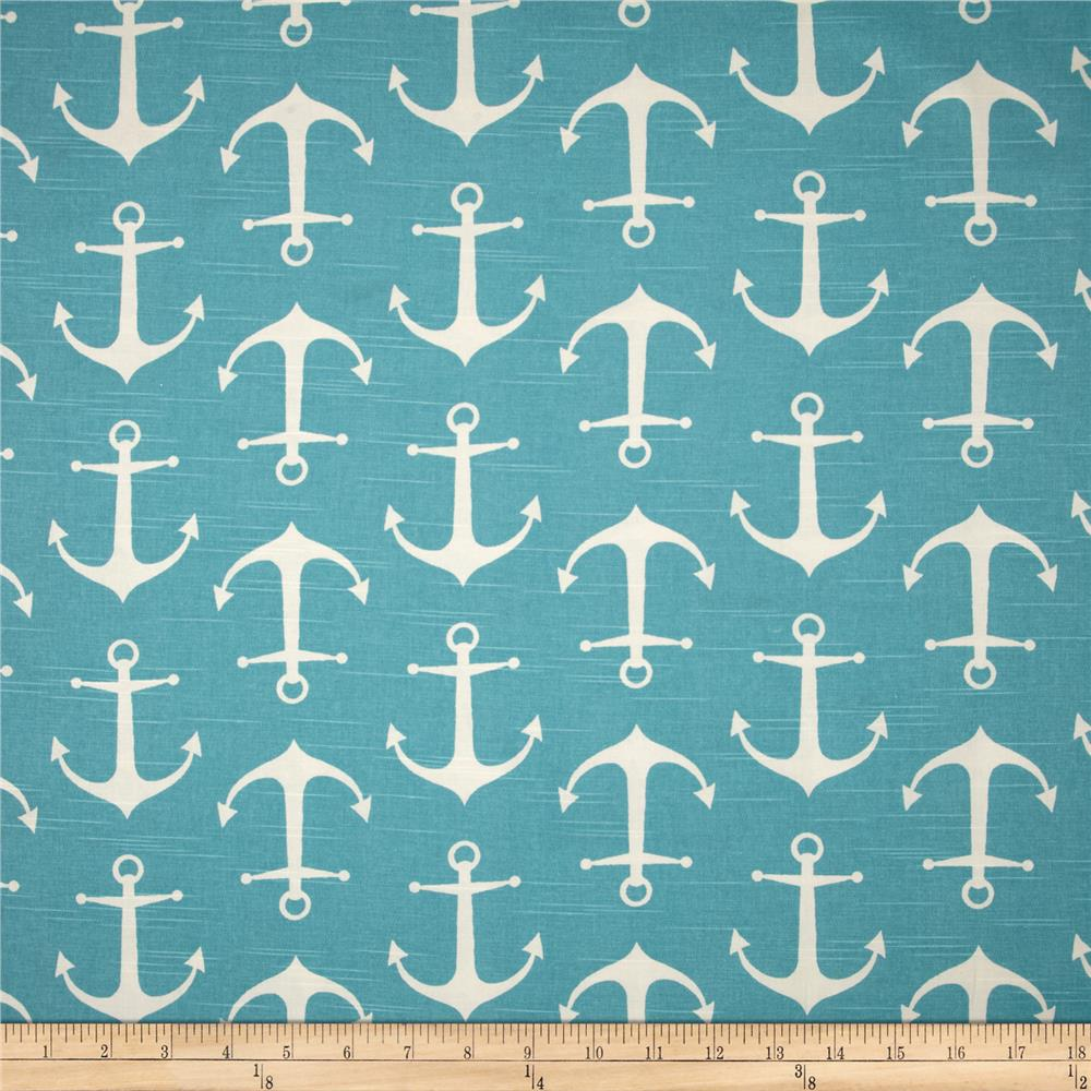 Premier Prints Sailor Slub Coastal Blue