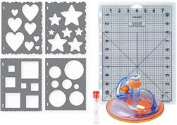 Fiskars Ultra ShapeXpress Starter Set 2 - Basic Shapes