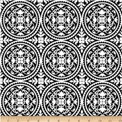 Joel Dewberry True Colors Scrollwork Black
