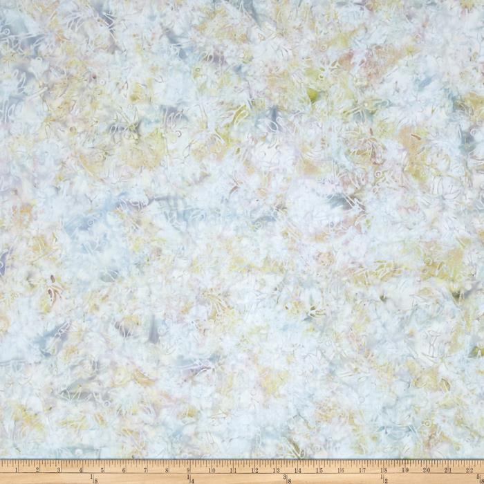 Jinny Beyer Malam Batiks III Floral Light Blue