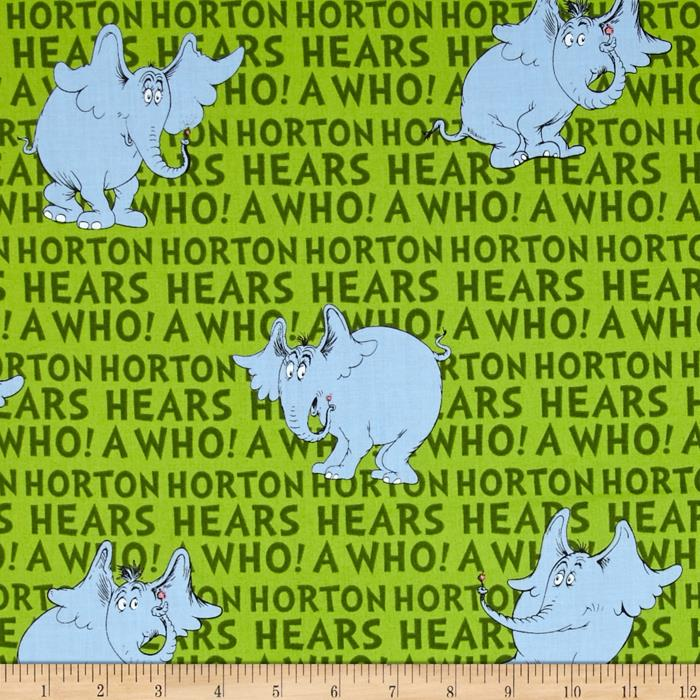 Dr. Seuss Horton Hears A Who Horton Words Grass