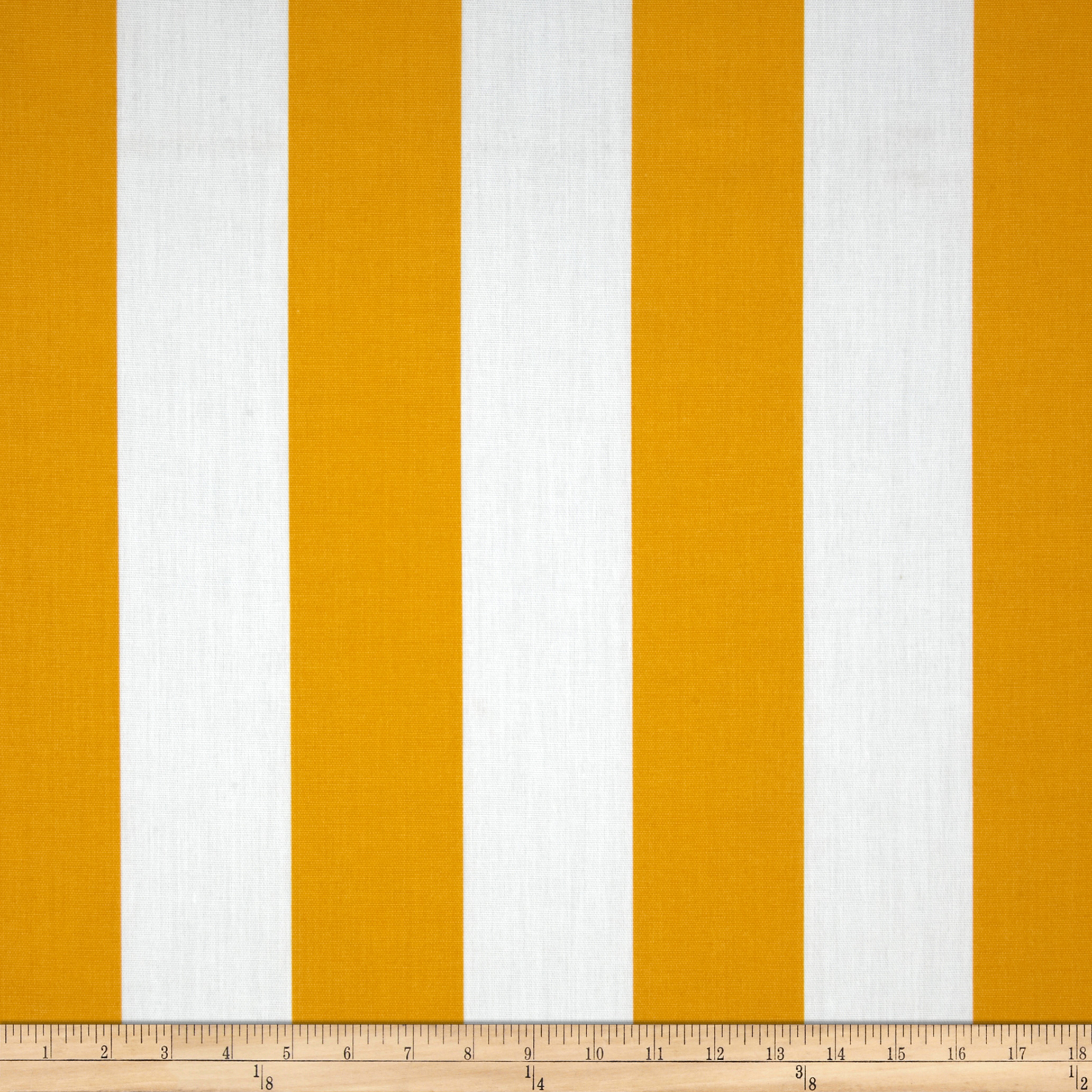 Premier Prints Indoor/Outdoor Vertical Stripe Citrus Yellow