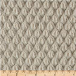 Minky Soft Tile Cuddle Ivory