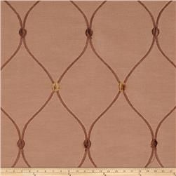 Fabricut Rockaway Lattice Taffeta Bronze