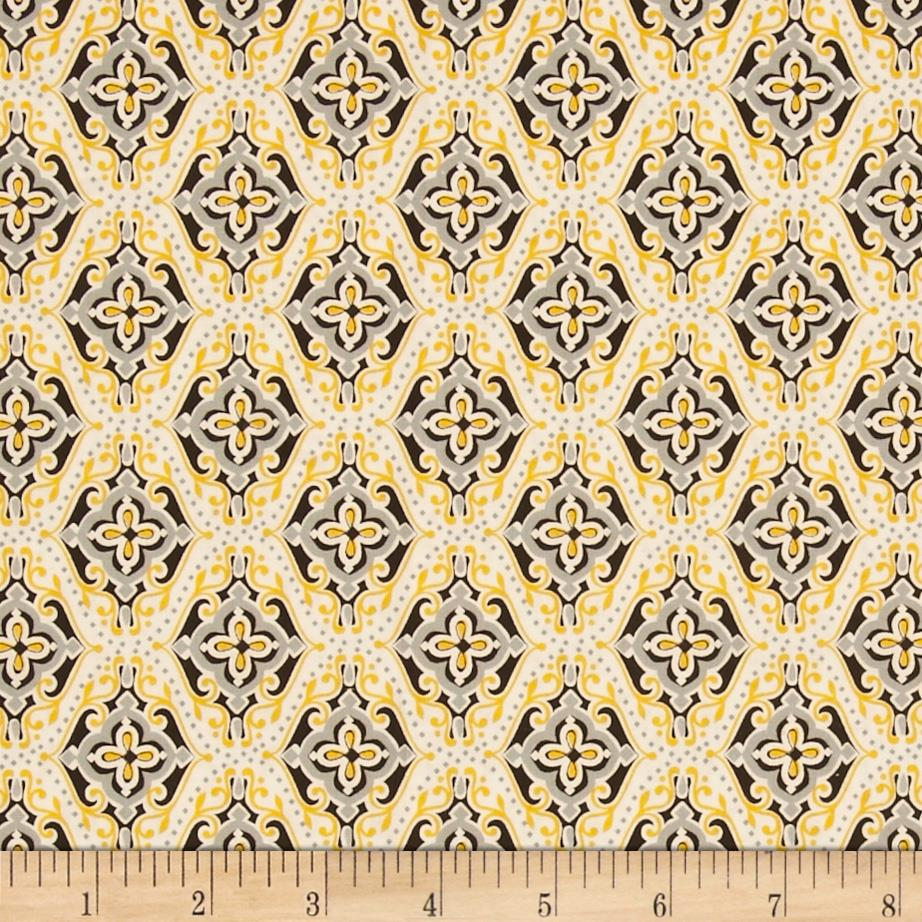 Sundance Geometric Yellow