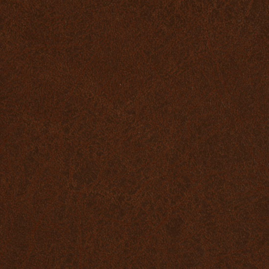 Faux Leather Fabric Grange Saddle Brown