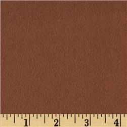 Quilt Block Solid Flannel Golden Brown