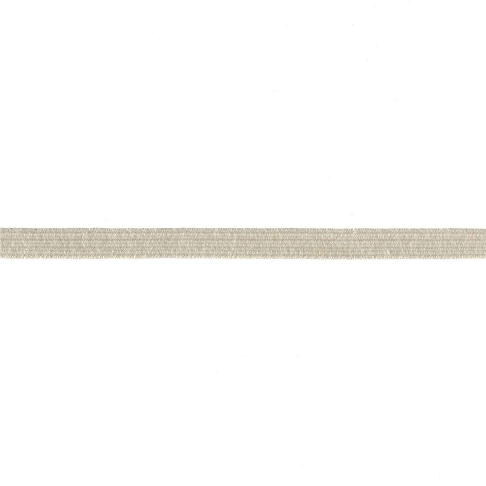 "1/4"" Cotton Swimwear Elastic Natural - By the Yard"