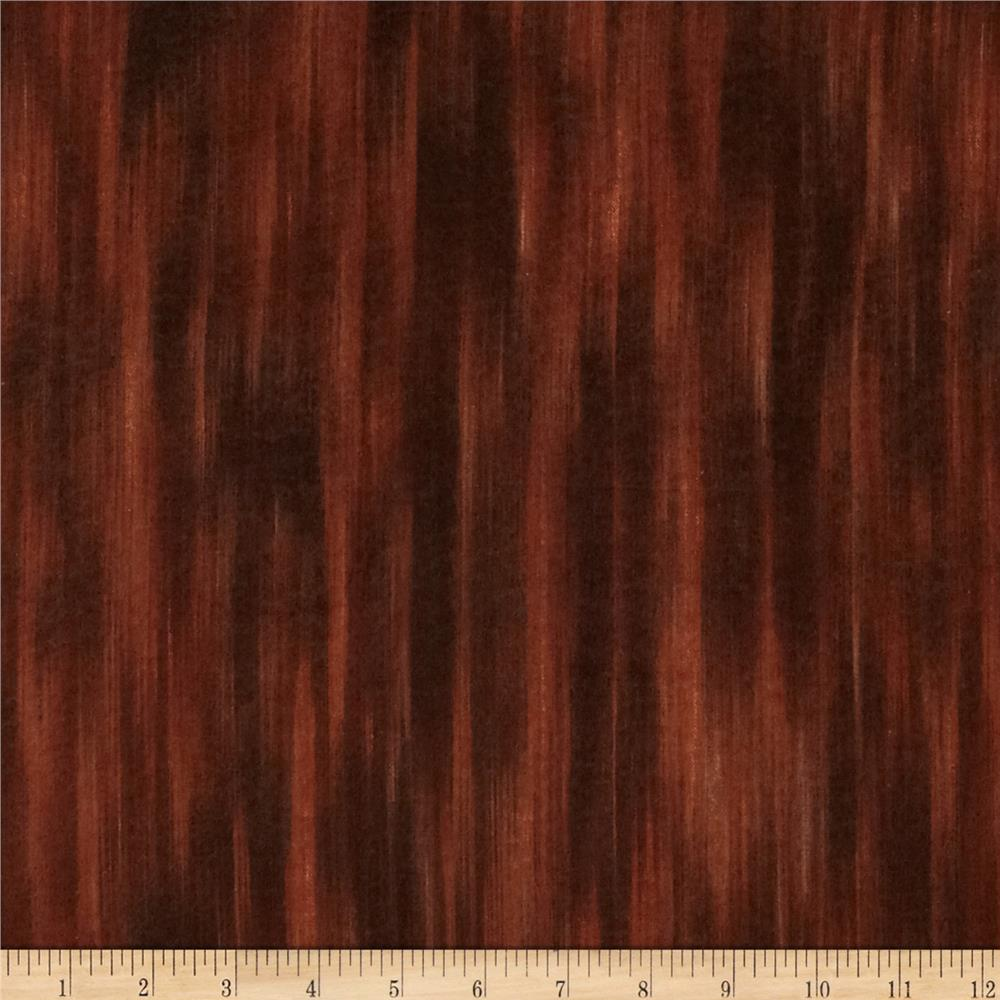 Kanvas Flourish Flannel Chestnut