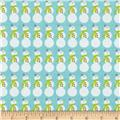 Riley Blake Christmas Basics Snowman Blue
