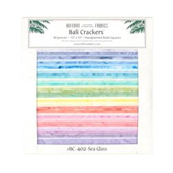 Bali Batiks Sea Glass 10 In. Crackers