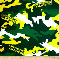 University of Oregon Fleece Camo Green