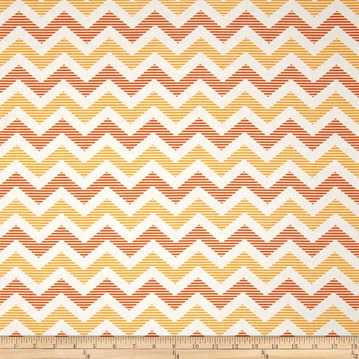 Riley Blake School Days Chevron Yellow