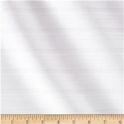 Stretch Ribbed Bengaline Suiting White Fabric