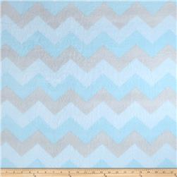 Winterfleece Chevron Blue