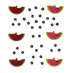 Dress It Up Embellishment Buttons  Watermelons