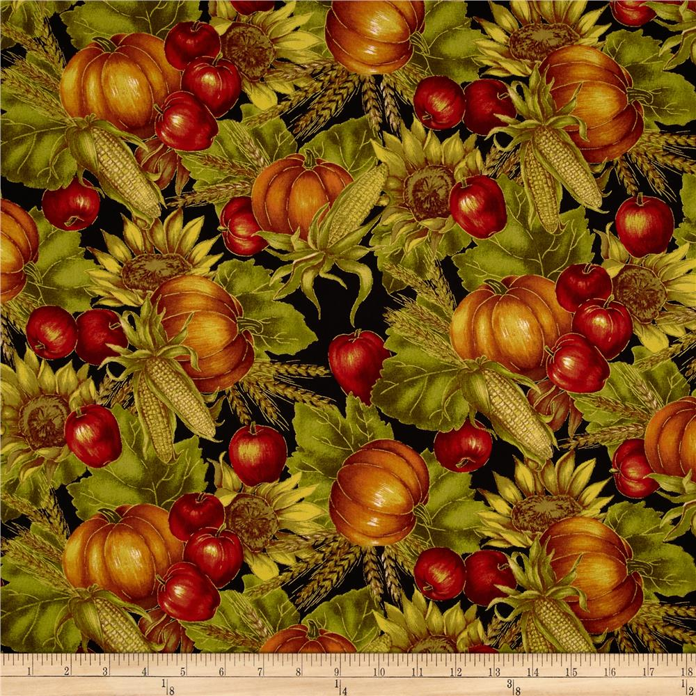 Autumn Glow Metallic Harvest Medley Black