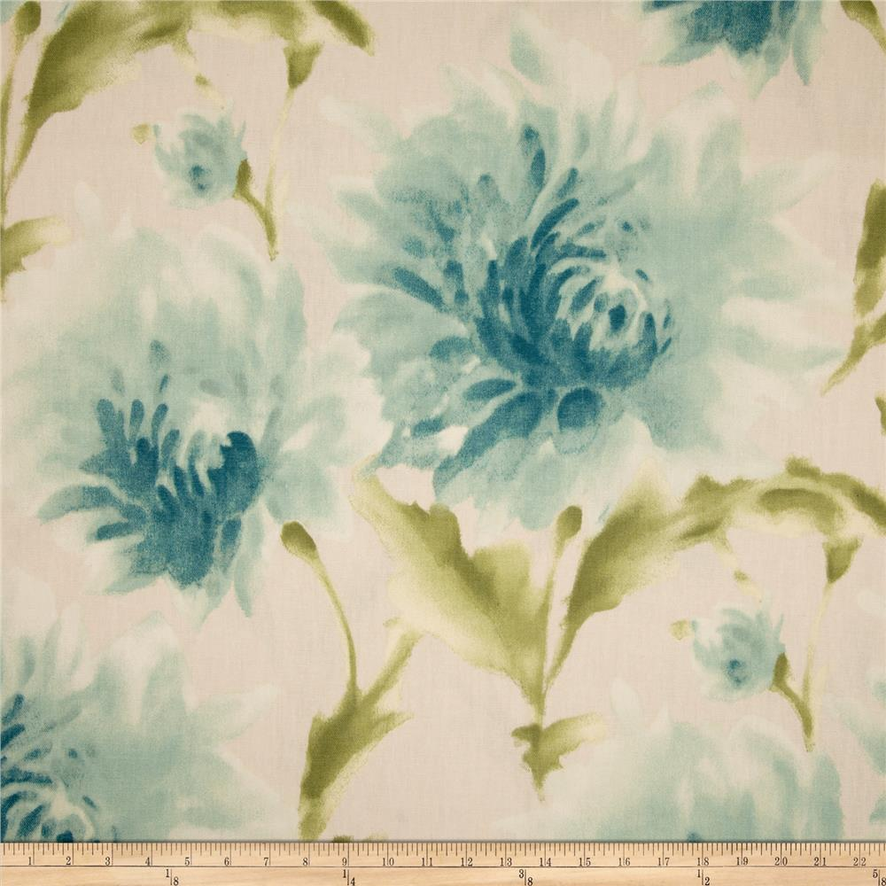 Richloom Tranquility Floral Seabreeze