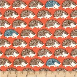 Seven Islands Hedgehogs Twill Coral