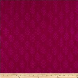 Indian Batik East Side Dots Purple