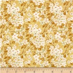 Imperial Dynasty Cherry Blossoms Tan