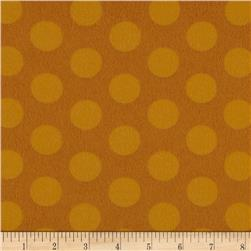Flannel Cookie Dots Golden