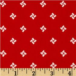 "Mary Fons Small Wonders 108"" Quilt Back Signature Red"