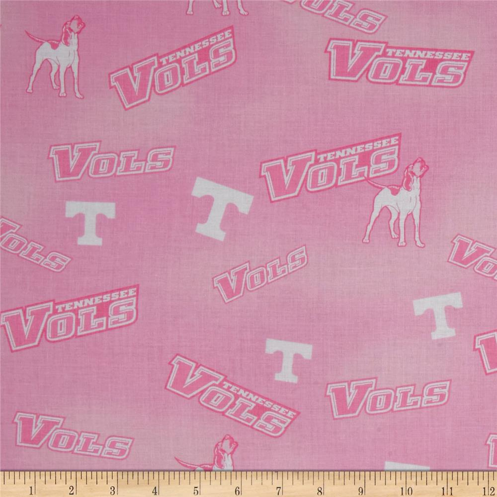 Collegiate Cotton Broadcloth Tennessee Pink