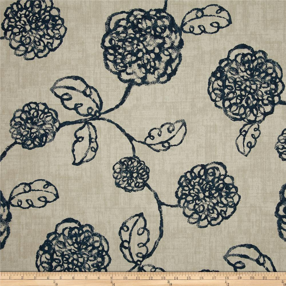 Magnolia Home Fashions Adele Navy