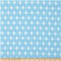 Metro Living Flame Stripe Blue